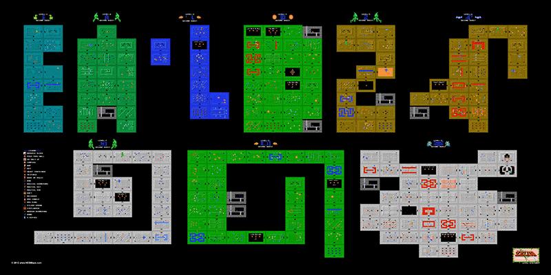The Legend of Zelda 2nd Quest Dungeons 24